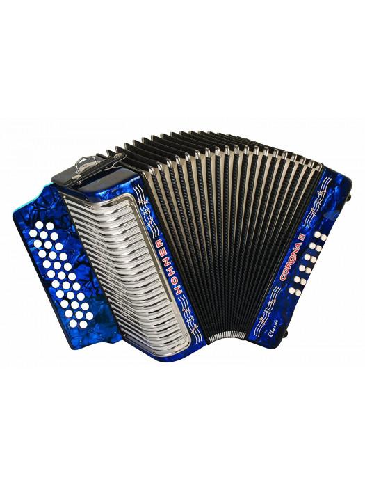 HOHNER Corona II Classic GCF / dark blue Аккордеон диатонический Хонер