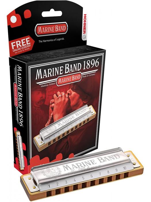 HOHNER Marine Band 1896/20 / B гармонический минор Губная гармоника диатоническая Хонер