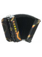HOHNER Fun Nova II 80 light / black airbrush (B-Stepped) Баян Хонер