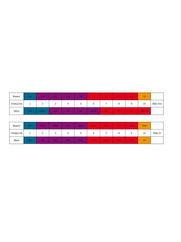 HOHNER Chrometta / 10 Губная гармоника хроматическая Хонер