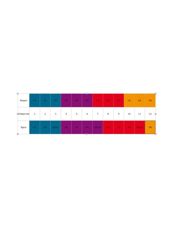 HOHNER Marine Band 364/24 / C Губная гармоника диатоническая Хонер