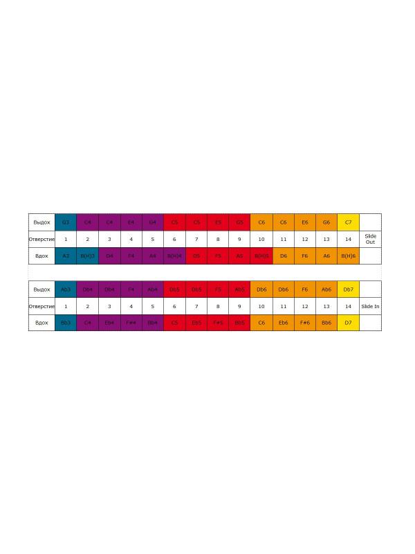 HOHNER Chrometta / 14 Губная гармоника хроматическая Хонер