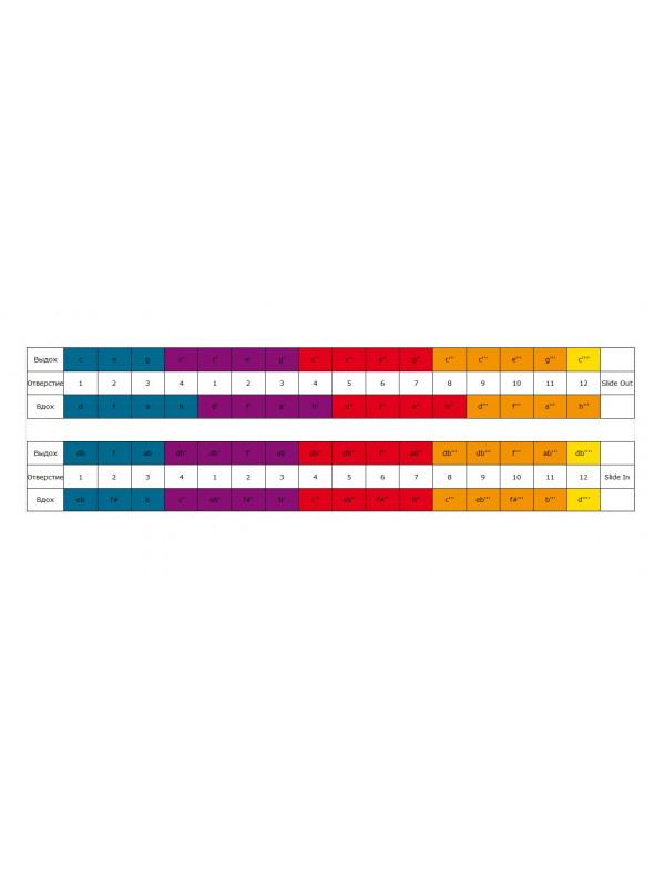 HOHNER Chromonica 64 280/64 / C Губная гармоника хроматическая Хонер