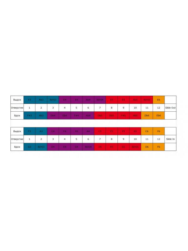 HOHNER Chromonica 48 270/48 / E Губная гармоника хроматическая Хонер