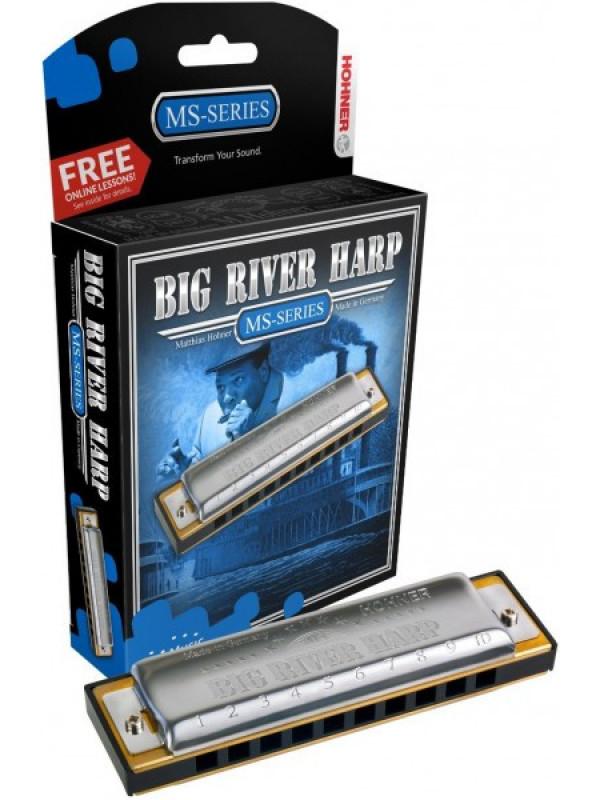 HOHNER Big river harp 590/20 / Db Губная гармоника диатоническая Хонер
