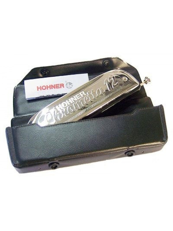 HOHNER Chrometta 12 255/48 / G Губная гармоника хроматическая Хонер