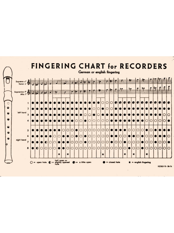 HOHNER B9534 Блокфлейта сопрано барочная система Хонер