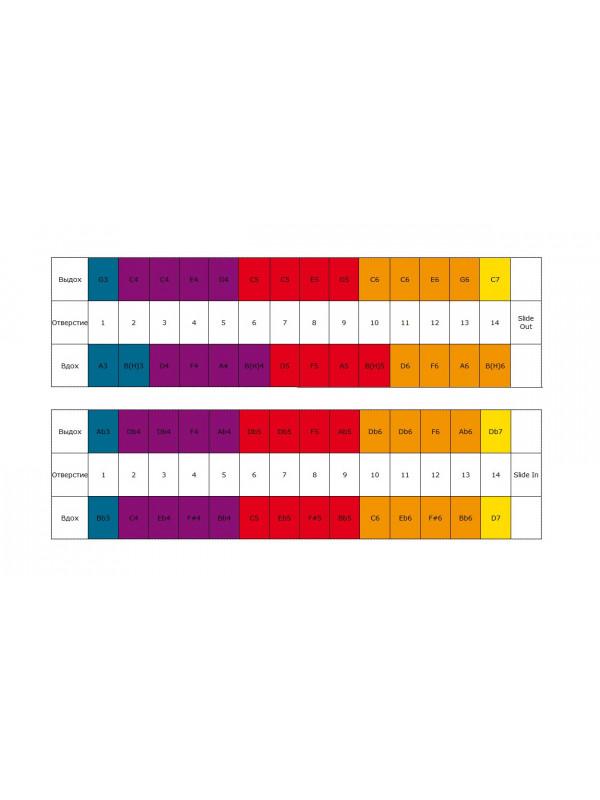 HOHNER Meisterklasse 7565/56 / C Губная гармоника хроматическая Хонер